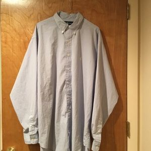 Ralph Lauren Button Down Shirt.  Size XL. EUC.